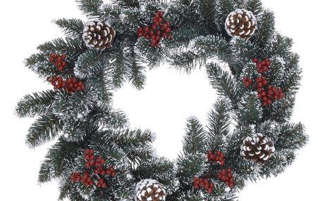 Vánoční věnec Pomesia zelená, 45 cm