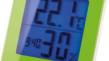 Sencor SWS 1500 GN Teploměr s hodinami
