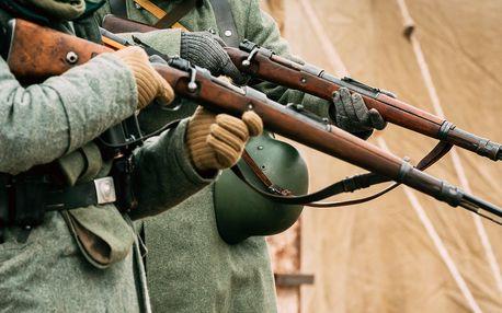 Střelba z malorážek nebo zbraně II. světové války