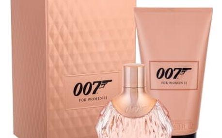 James Bond 007 James Bond 007 For Women II dárková kazeta pro ženy parfémovaná voda 50 ml + tělové mléko 150 ml