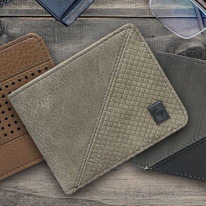 Kožené pánské peněženky Cavaldi ve 4 stylech