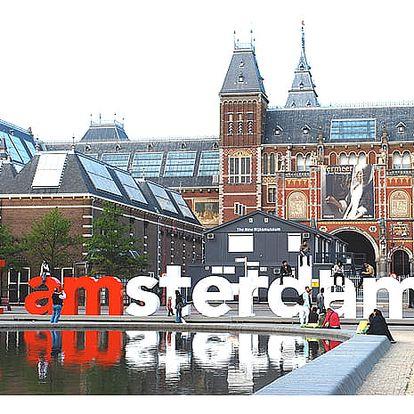 Víkendový poznávací výlet do Amsterdamu pro jednu osobu z Prahy a Ústí nad Labem.