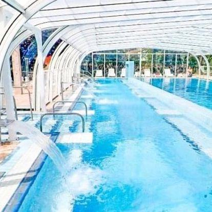 Hévíz: Hotel Aquamarin *** s termálními bazény a saunami neomezeně + polopenze
