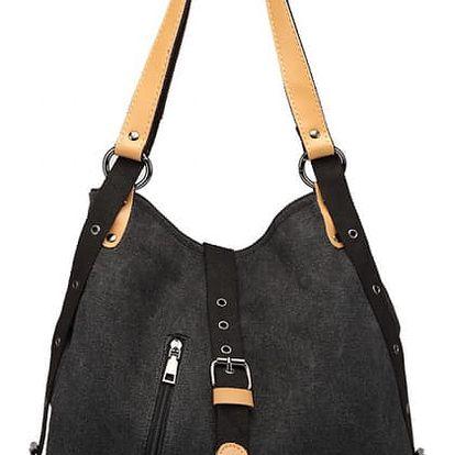 Dámská černá kabelka Klossie 6850