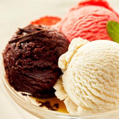 Vyberte si 3 kopečky zmrzliny až z 50 druhů