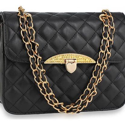 Dámská černá kabelka Keren 668