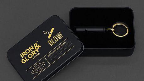 Luxusní píšťalka na klíče Iron&Glory