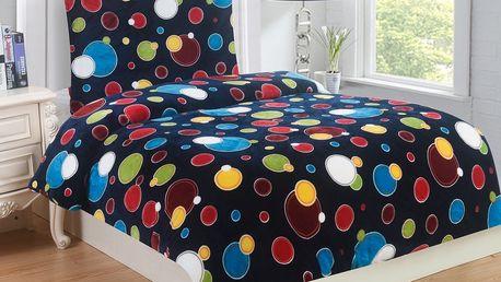 Jahu Povlečení mikroplyš Bubbles, 140 x 200 cm, 70 x 90 cm