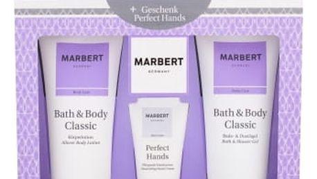 Marbert Bath & Body Classic dárková kazeta pro ženy sprchový gel 200 ml + tělové mléko 200 ml + krém na ruce 50 ml
