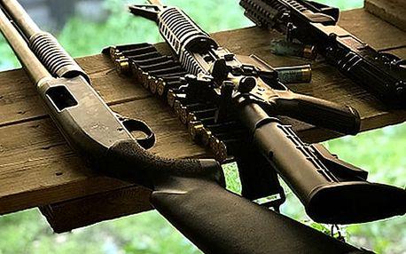 Zážitek na střelnici, který potěší každého muže. Netradiční a oblíbený dárek který potěší.