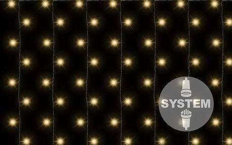Nexos diLED 2182 světelný závěs - 200 LED teple bílá