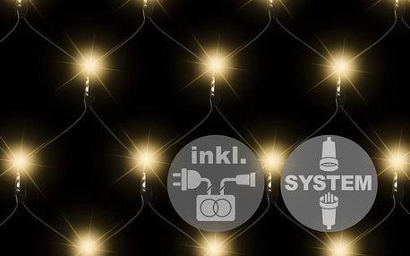 Nexos 2181 diLED světelná síť - 100 LED teple bílá + napájení