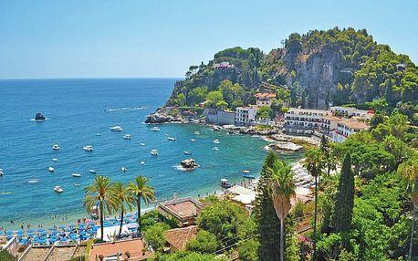 Itálie, Sicílie, letecky na 8 dní snídaně