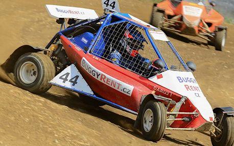 Adrenalinová jízda v závodní buggy vč. paliva