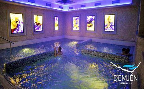 Maďarské termální lázně Demjén nedaleko Egeru relaxačně v apartmánu u Avatar lázní + varianty se vstupem do termálů