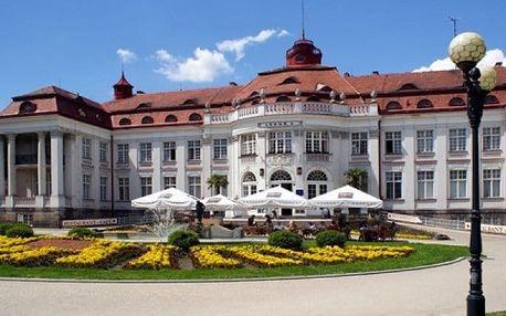 3–4denní wellness pobyt pro 2 s polopenzí v hotelu Krásná Královna**** v Karlových Varech