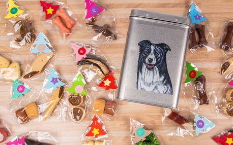 Originální adventní kalendáře pro psy různých plemen