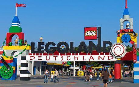 Legoland v Německu, 1denní výlet pro 1 osobu včetně vstupenky