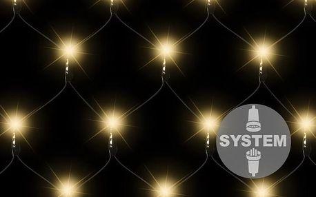 Nexos diLED 2180 světelná síť - 100 LED teple bílá