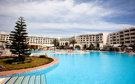 Tunisko - Yasmine Hammamet na 8 až 12 dní, all inclusive s dopravou letecky z Prahy 150 m od pláže