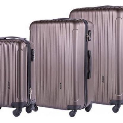 Set cestovních kufrů 3 ks