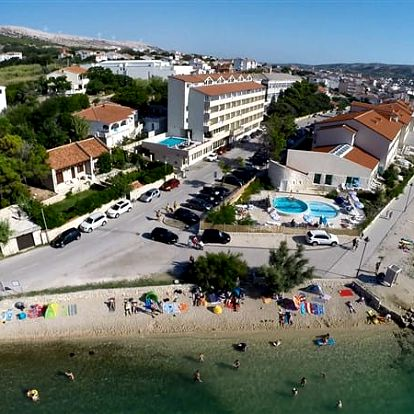 Hotel MERIDIJAN, Ostrov Pag, Chorvatsko, vlastní doprava, polopenze