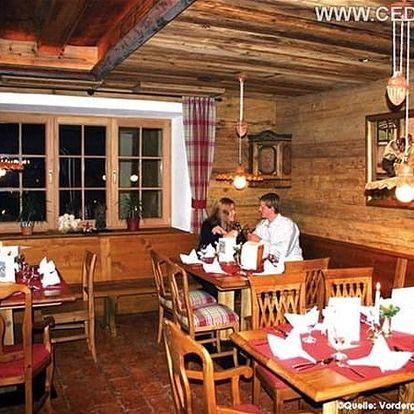 Landhotel VORDERGRUB, Kitzbühl /Kirchberg, Rakousko, vlastní doprava, snídaně v ceně