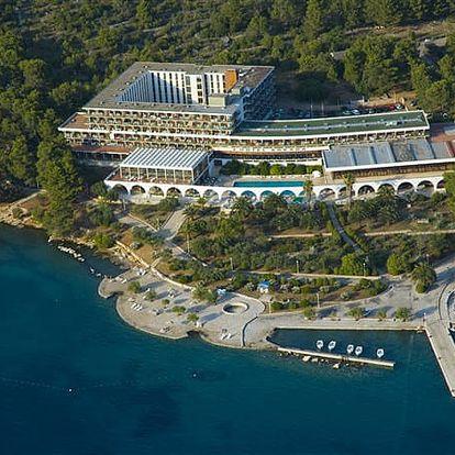 Hotel ARKADA, Dalmatinské ostrovy, Chorvatsko, polopenze