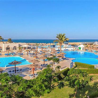 Hotel ALADDIN BEACH RESORT, Hurghada (oblast), Egypt, letecky, all inclusive