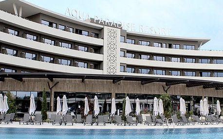 Hotel AQUA PARADISE, Burgas (oblast), Bulharsko, letecky, all inclusive