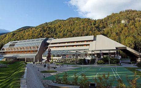 Hotel ŠPIK, Kranjska Gora, Slovinsko, vlastní doprava, polopenze