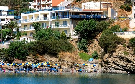 Řecko - Kréta na 8 dní, polopenze s dopravou letecky z Prahy 50 m od pláže