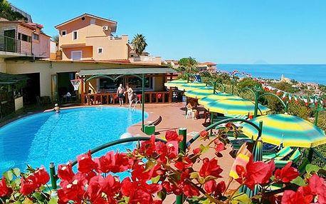 Hotel ORIZZONTE BLU DI TROPEA, Kalábrie, Itálie, letecky, polopenze