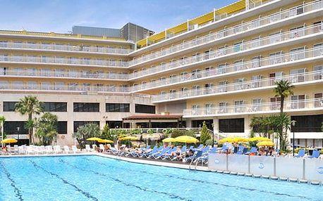 Hotel OASIS PARK LLORET, Costa Brava, Španělsko, letecky, polopenze