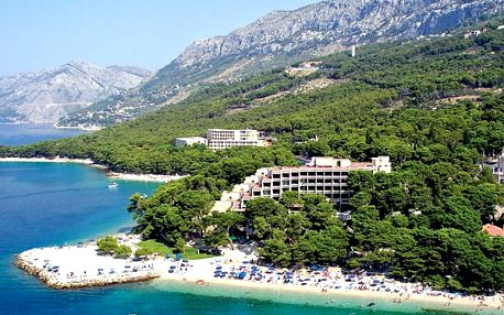 Bluesun hotel SOLINE, Makarská riviéra, Chorvatsko, polopenze