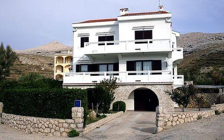 Apartmány PAG, Ostrov Pag, Chorvatsko, vlastní doprava, bez stravy