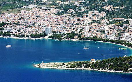 Hotel DALMACIJA, Makarská riviéra, Chorvatsko, polopenze