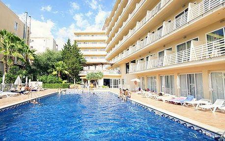 Hotel BAHAMAS, Mallorca, Španělsko, letecky, polopenze