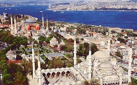 Istanbul - prodloužený víkend, Turecko, letecky, snídaně v ceně