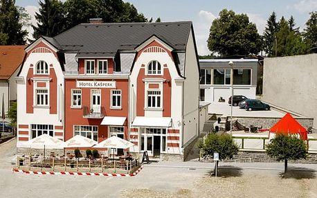 Hotel Kašperk, Šumava a Pošumaví, Česká republika, vlastní doprava, polopenze