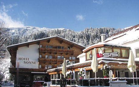 Hotel KOSIS SPORTS LIFESTYLE (ex SONNE), Tyrolsko, Rakousko, vlastní doprava, polopenze