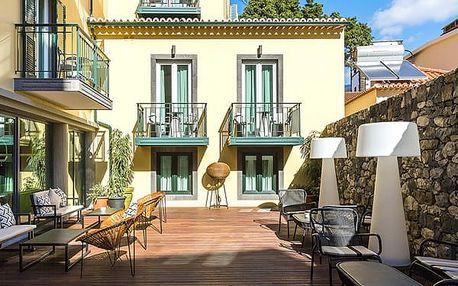 Hotel CASTANHEIRO, Madeira, Portugalsko, letecky, polopenze