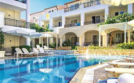Hotel DIMITRIOS VILLAGE BEACH RESORT, Západní Kréta / Chania, Řecko, letecky, all inclusive