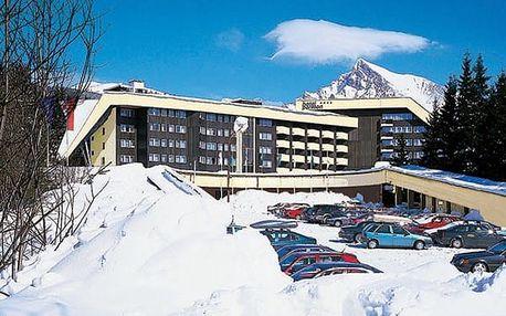 Hotel GRAND HOTEL PERMON, Vysoké Tatry, Slovensko, vlastní doprava, polopenze