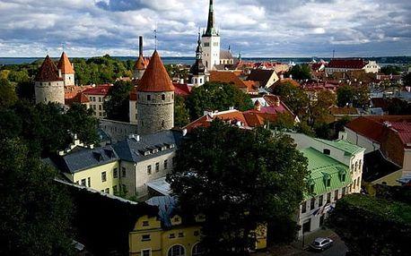 Velký okruh Pobaltím, Evropa, Litva, autobusem, snídaně v ceně