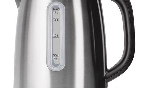 Sencor SWK 1720BK nerezová rychlovarná konvice 1,7 l, černá