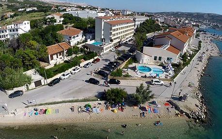 Chorvatsko - Ostrov Pag na 8 dnů, polopenze