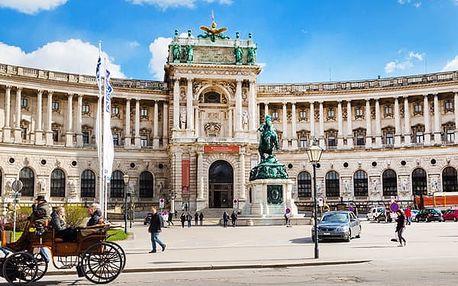 Rakousko - Vídeň na 3 dny, snídaně v ceně