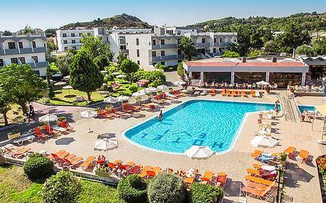 Hotel EVI, Rhodos, Řecko, letecky, all inclusive