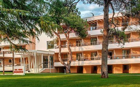 Residence SOL UMAG, Istrie, Chorvatsko, vlastní doprava, polopenze